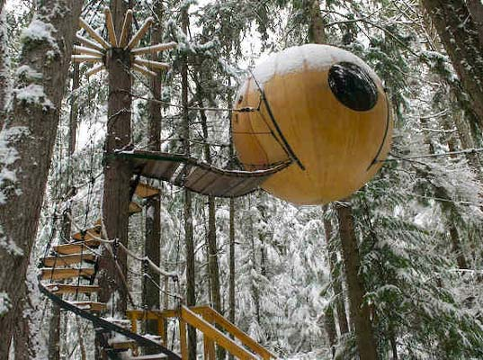 Free Spirit Sphere - Tree House