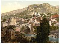 Mostar Köprüsü, (1890)